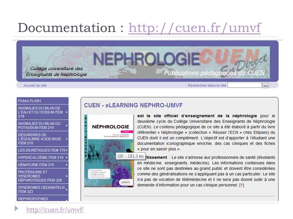 Documentation : http://cuen.fr/umvfhttp://cuen.fr/umvf http://cuen.fr/umvf/