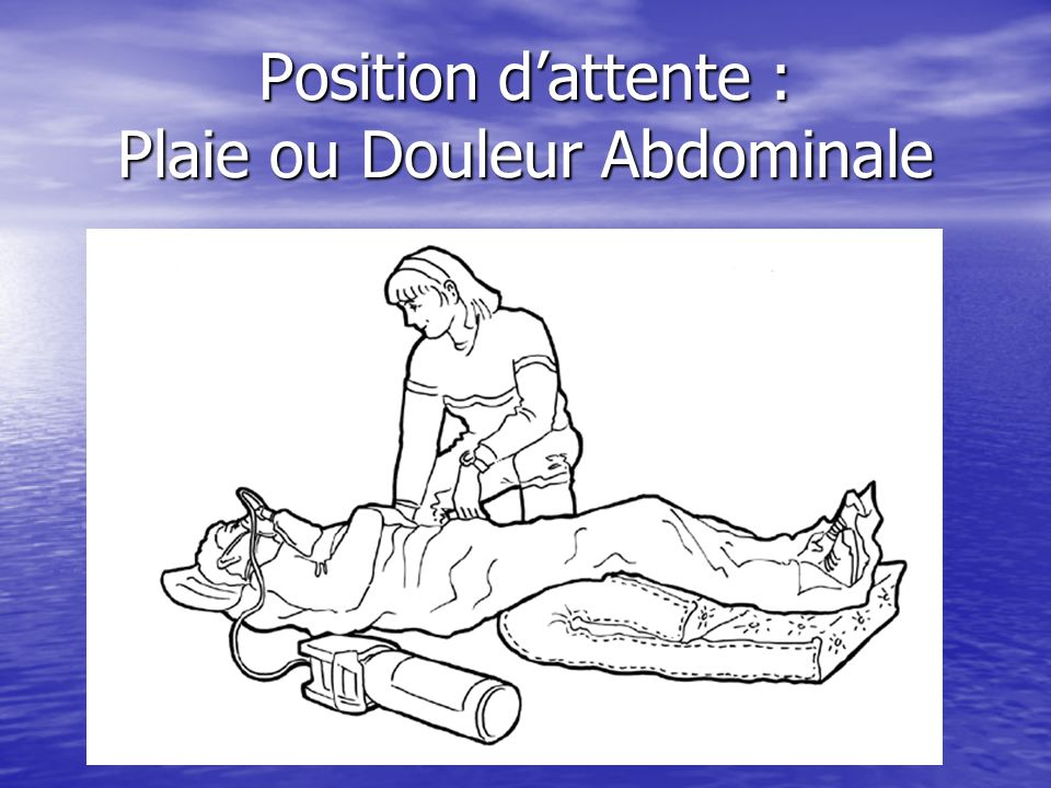 Conditionnement de la victime Mise en place dune voie veineuse. Mise en place dune voie veineuse. Oxygénothérapie. Oxygénothérapie. Mise en place du S