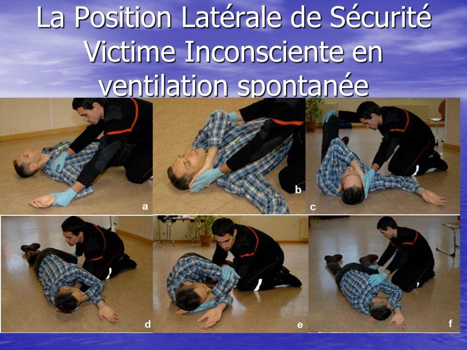 Position dattente : Plaie Thoracique ou Détresse Respiratoire