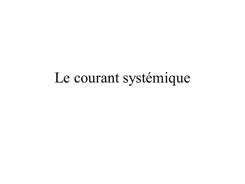 Le courant systémique