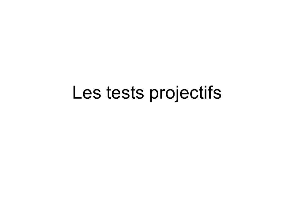 Les tests projectifs