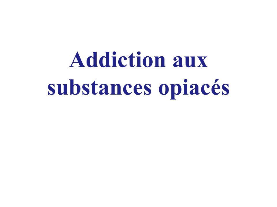 Addiction aux substances opiacés