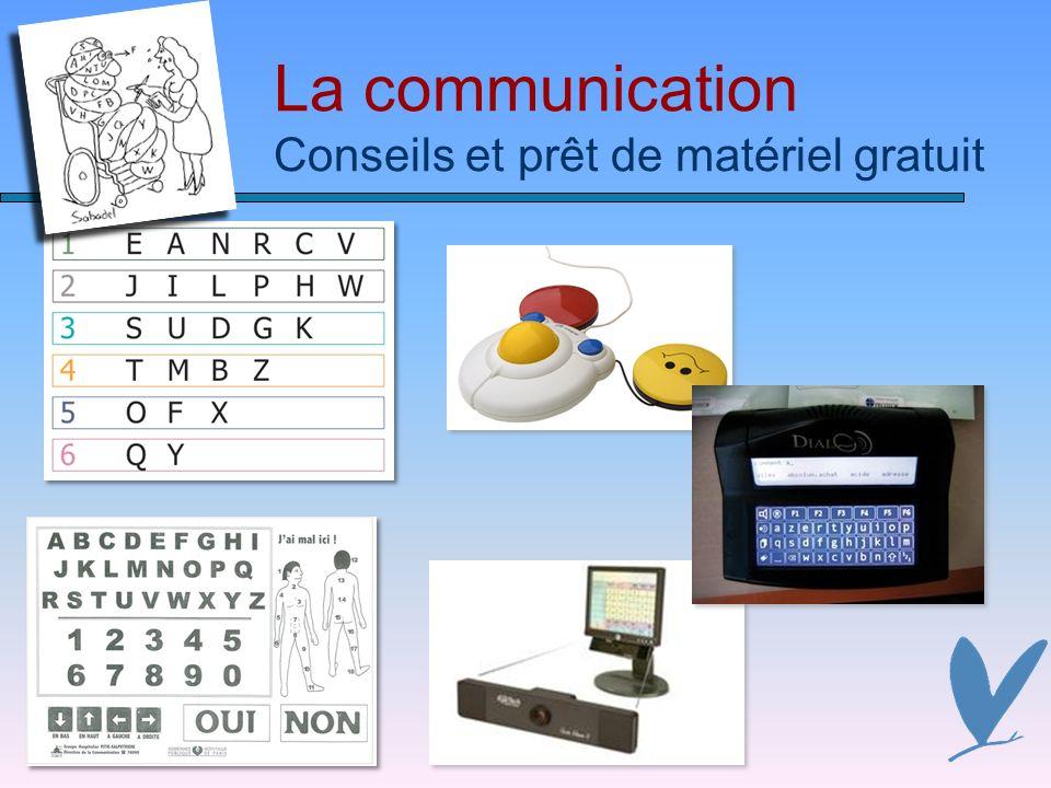 La communication Conseils et prêt de matériel gratuit
