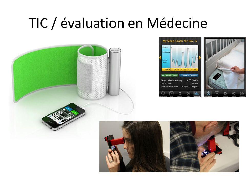 TIC / évaluation en Médecine