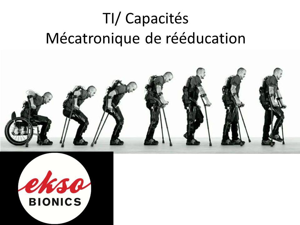 TI/ Capacités Mécatronique de rééducation