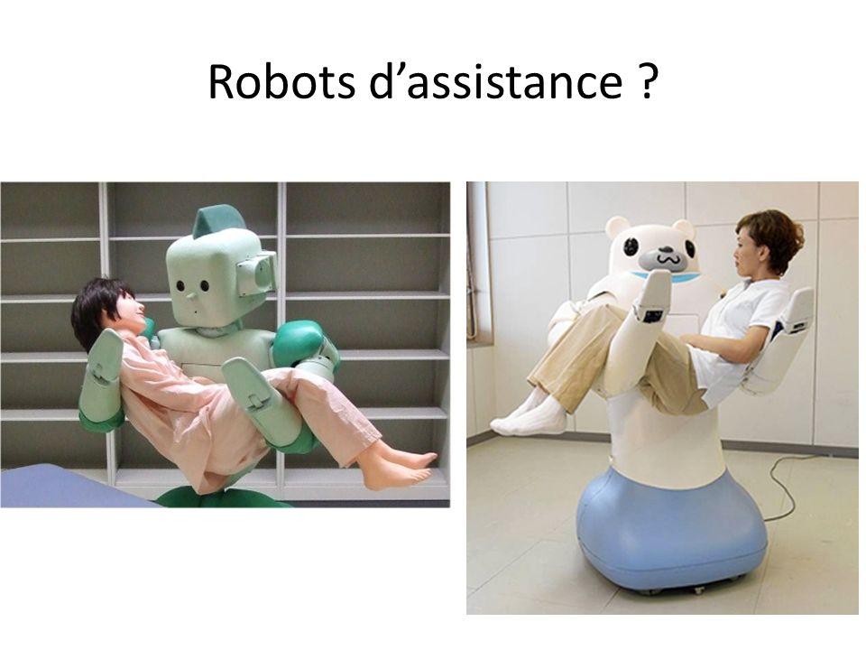 Robots dassistance ?