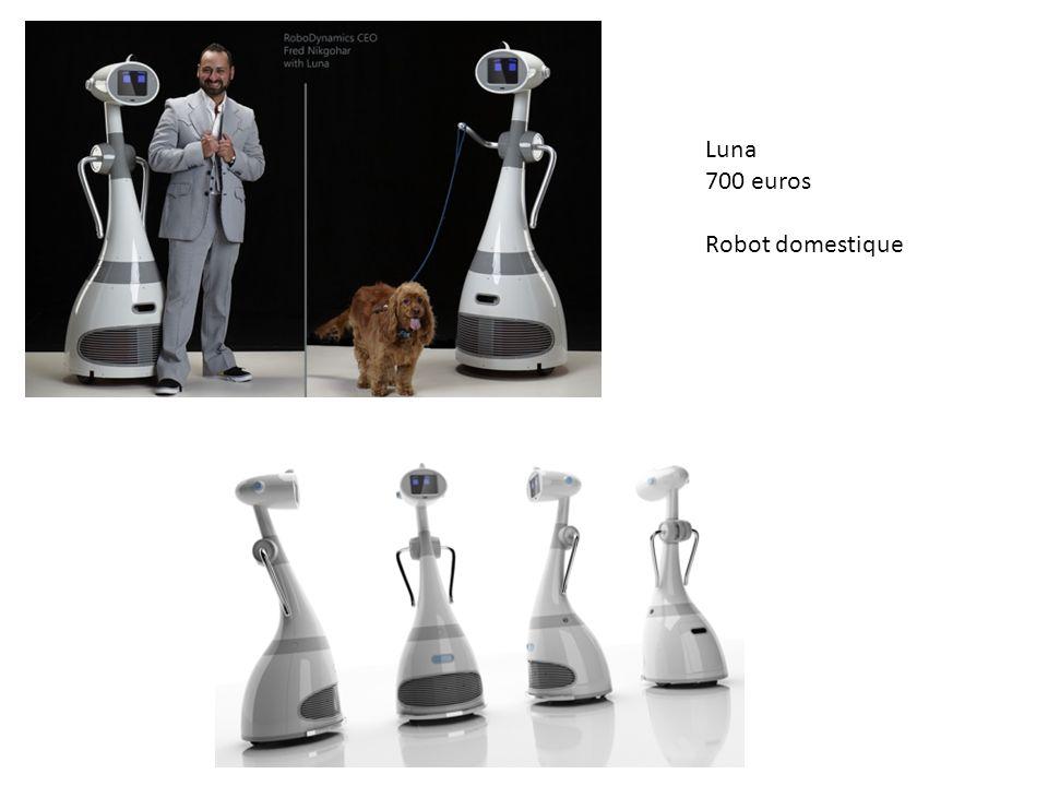 Luna 700 euros Robot domestique