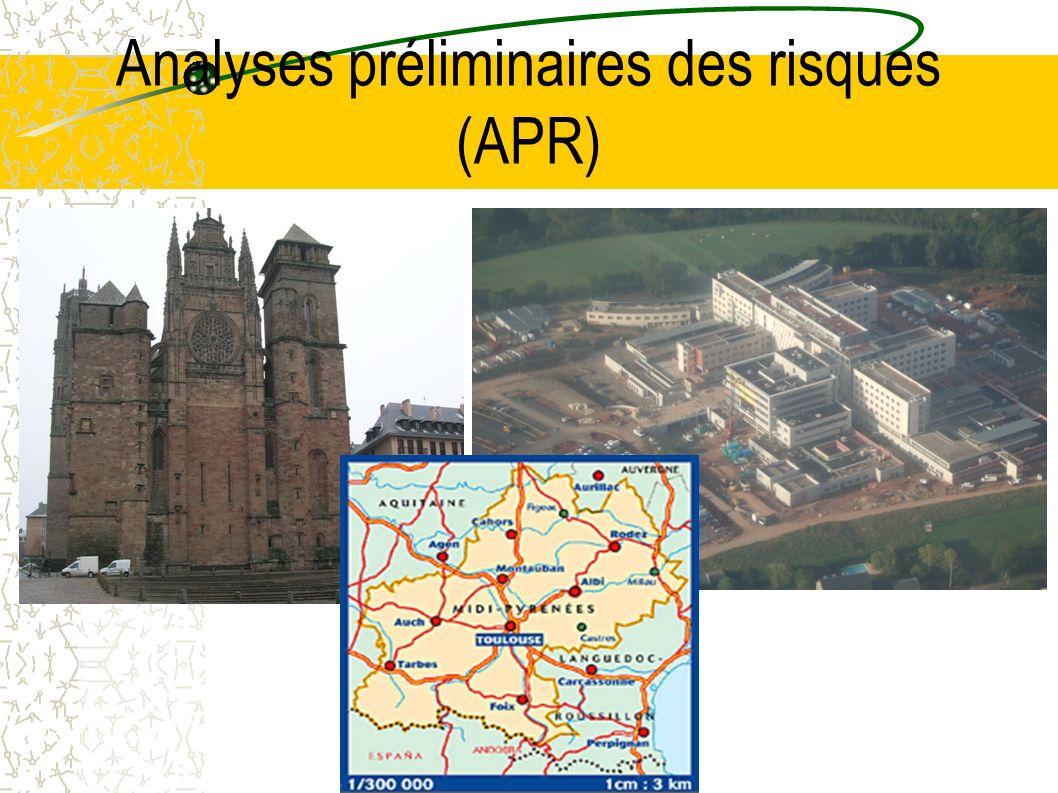 Analyses préliminaires des risques (APR)