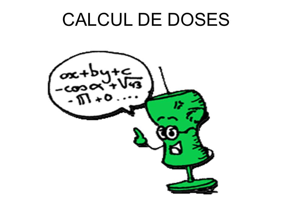 COMPREHENSION X% correspond à : X grammes pour 100ml 1% = 1 gramme pour 100ml ou 10 grammes / litre Exemple –Une ampoule de chlorure de sodium de 10 ml à 10% = 10grammes de sodium pour 100ml donc 1gramme de sodium pour 10ml