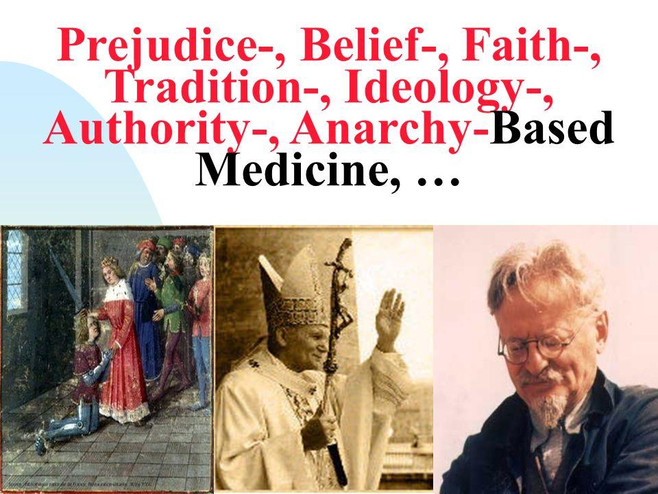Prejudice-based Medicine Fowler FJ Jr, McNaughton Collins M, Albertsen PC, Zietman A, Elliott DB, Barry MJ.