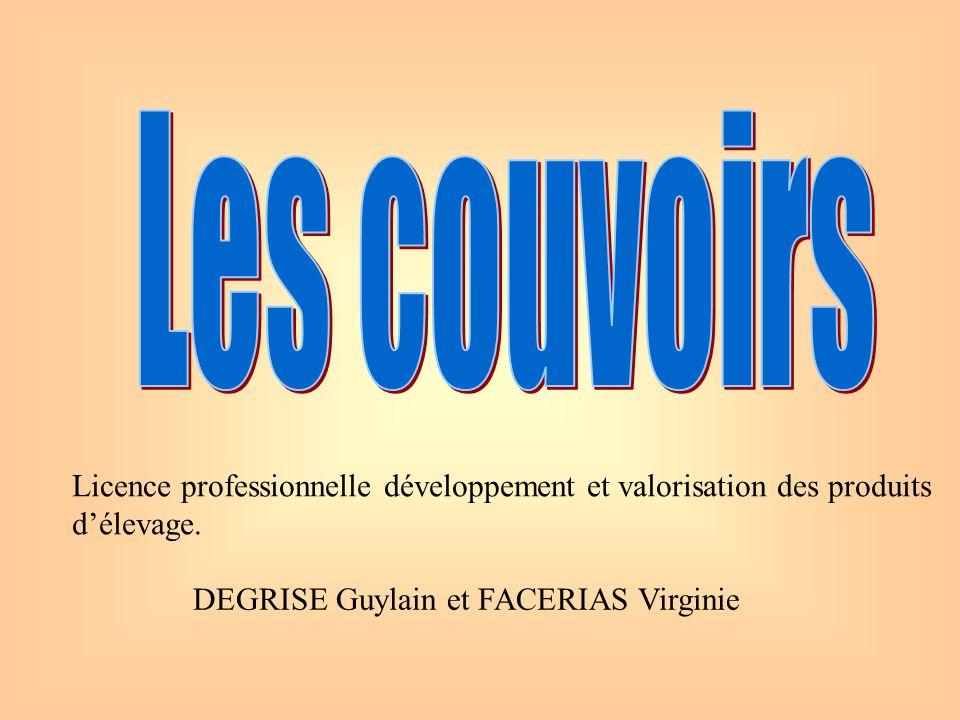 DEGRISE Guylain et FACERIAS Virginie Licence professionnelle développement et valorisation des produits délevage.