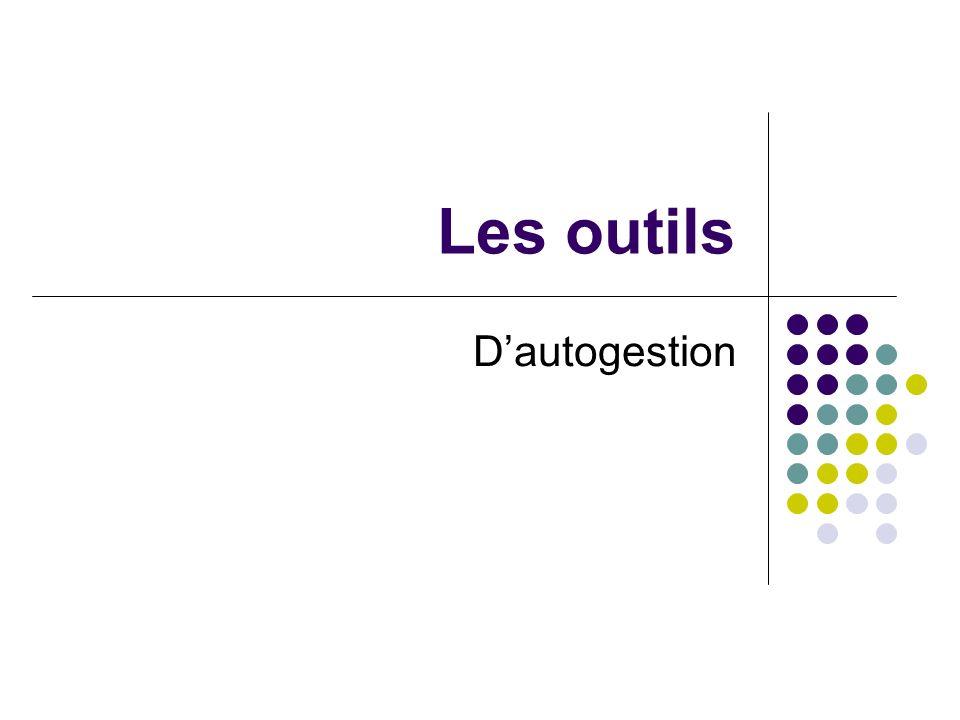 Les outils Dautogestion