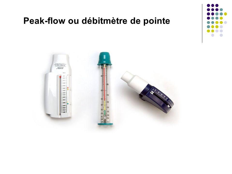 Peak-flow ou débitmètre de pointe