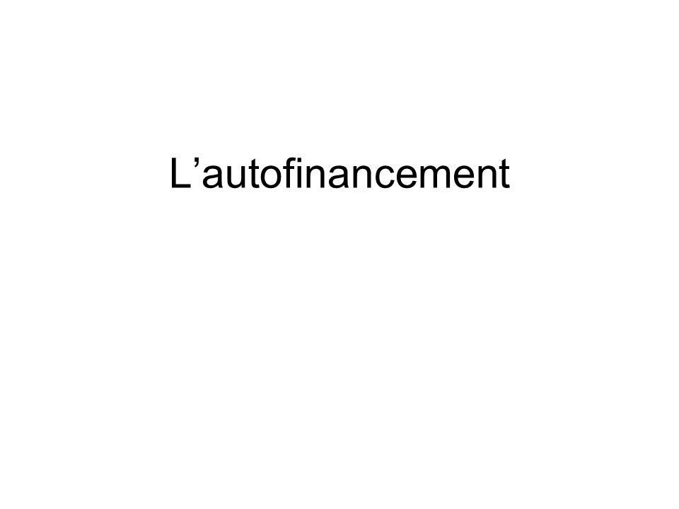Lautofinancement