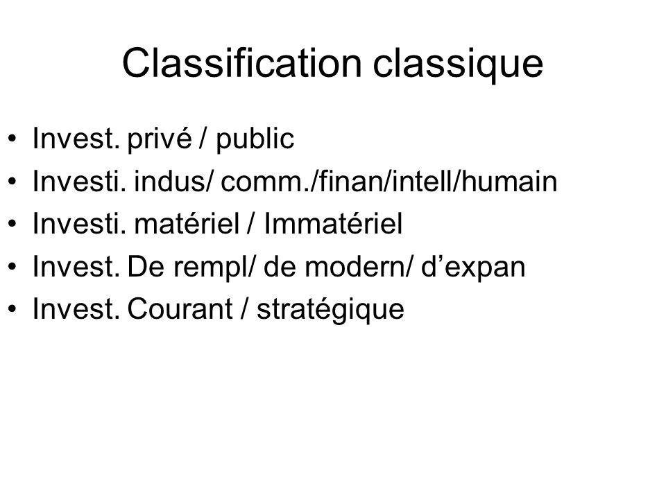 Classification moderne Selon la chronologie des flux: 1.une seule sortie une seule entrée 2.Une seule sortie plusieurs entrées 3.Plusieurs sorties plusieurs entrée 4.Plusieurs sorties plusieurs entrées I.