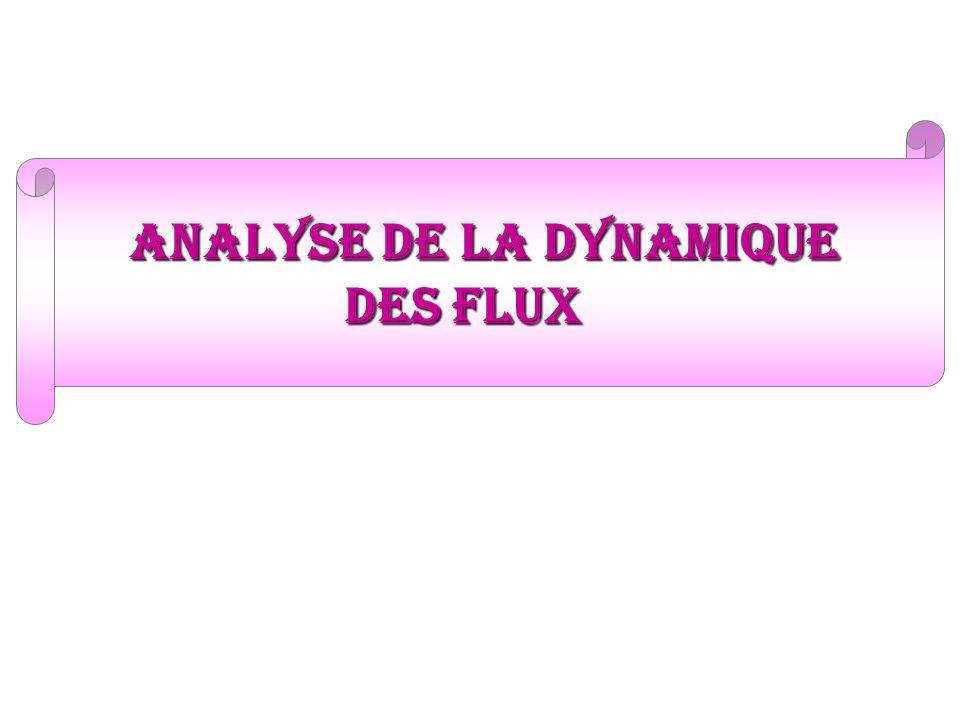 analyse de la dynamique des flux