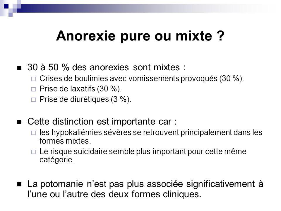 Cas clinique (3) Examen dentrée : Cachexie.