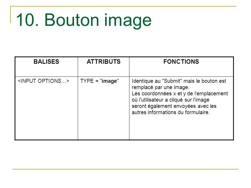 10. Bouton image BALISESATTRIBUTSFONCTIONS TYPE =