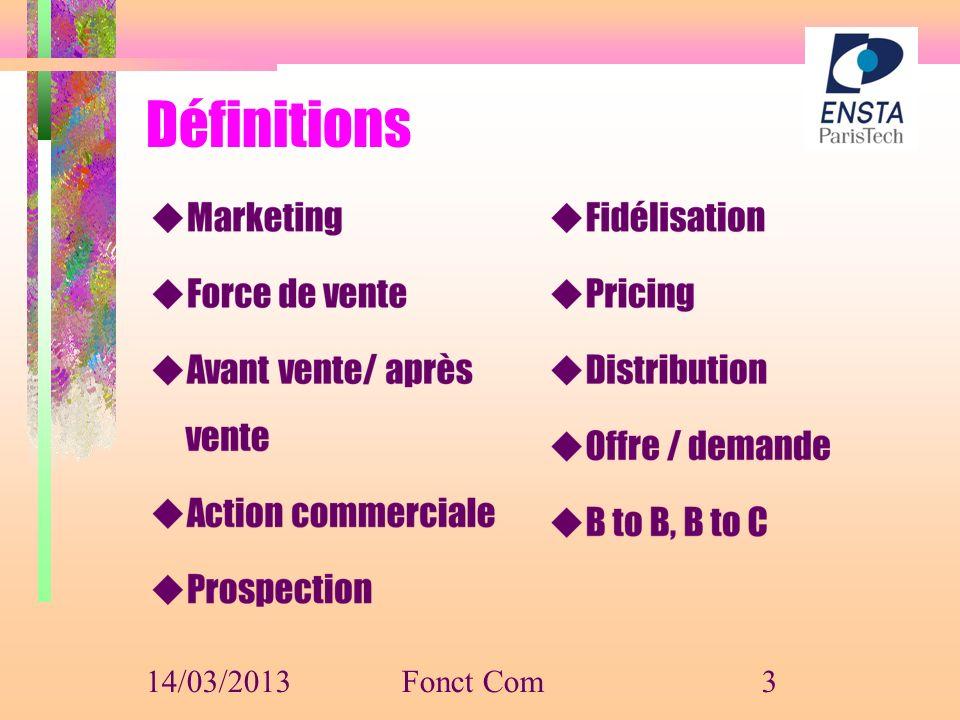 Définitions 14/03/2013Fonct Com3