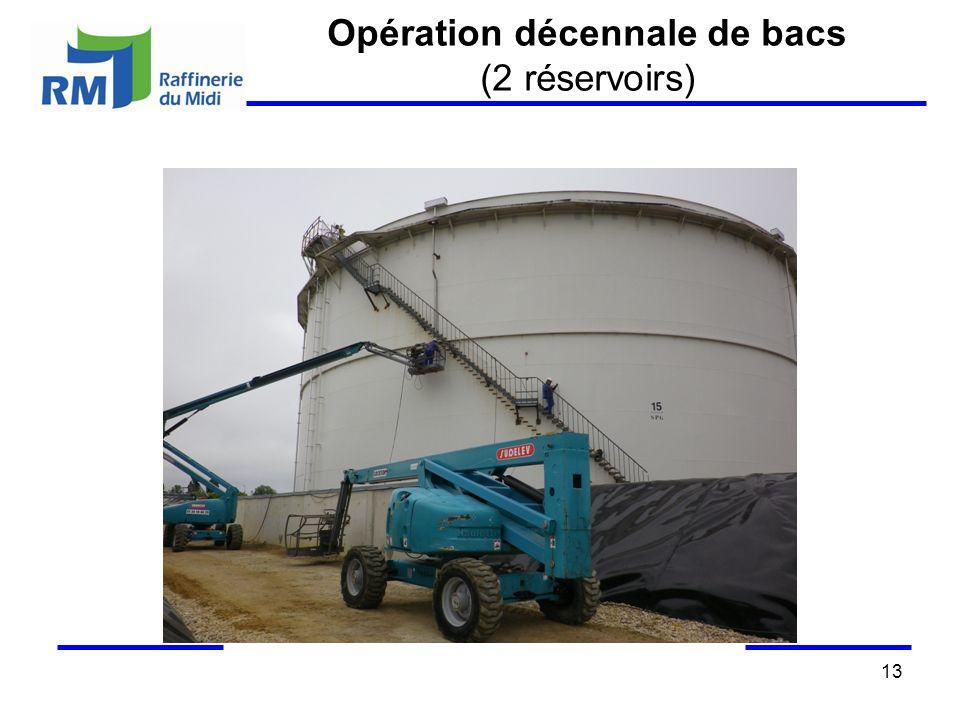 Opération décennale de bacs (2 réservoirs) 13