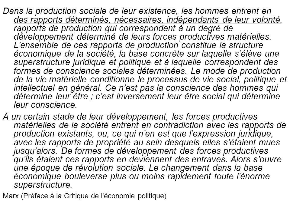 Mais Marx ne décrit en rien ou presque comment fonctionnerait le socialisme/communisme.