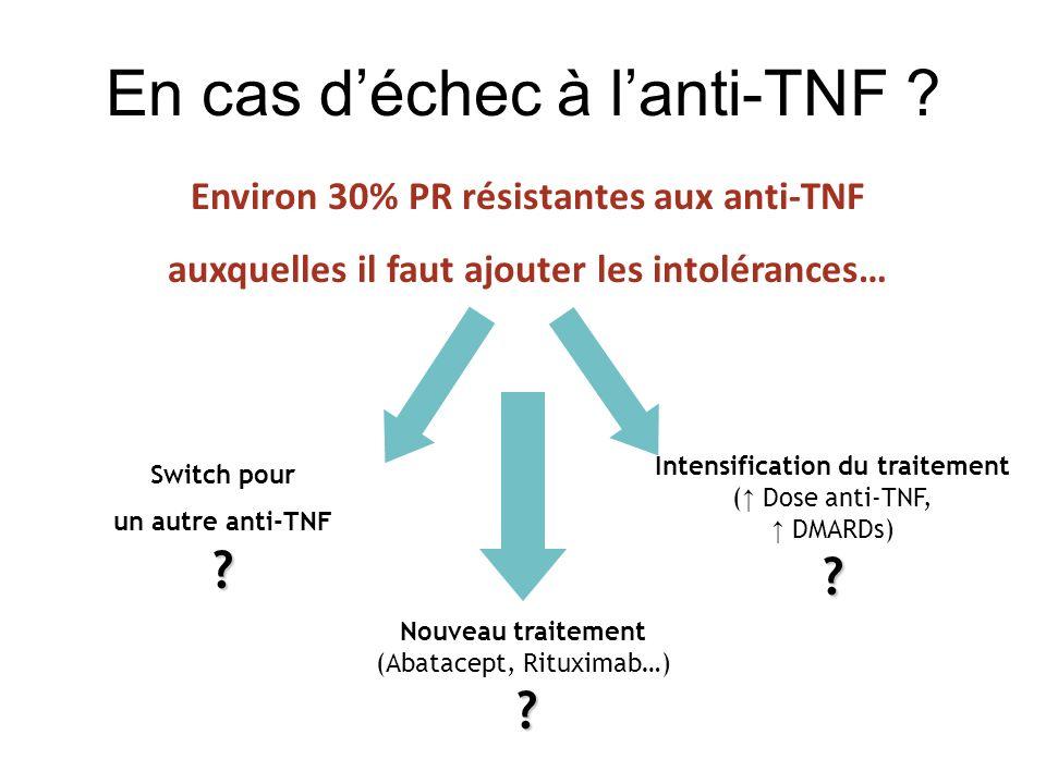 En cas déchec à lanti-TNF .