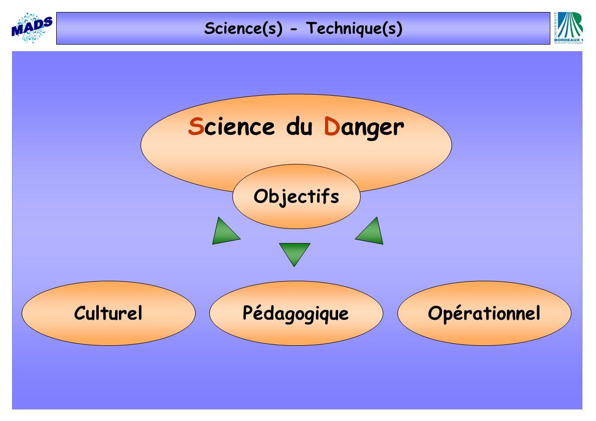 Science du Danger aspects méthodologiques Introduction