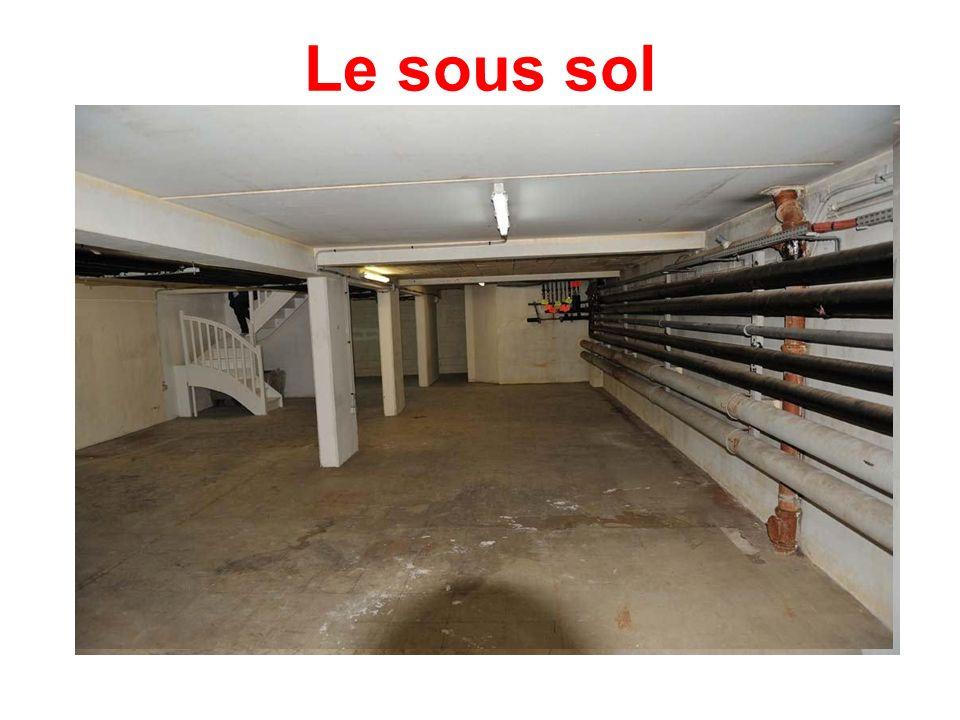Le sous sol
