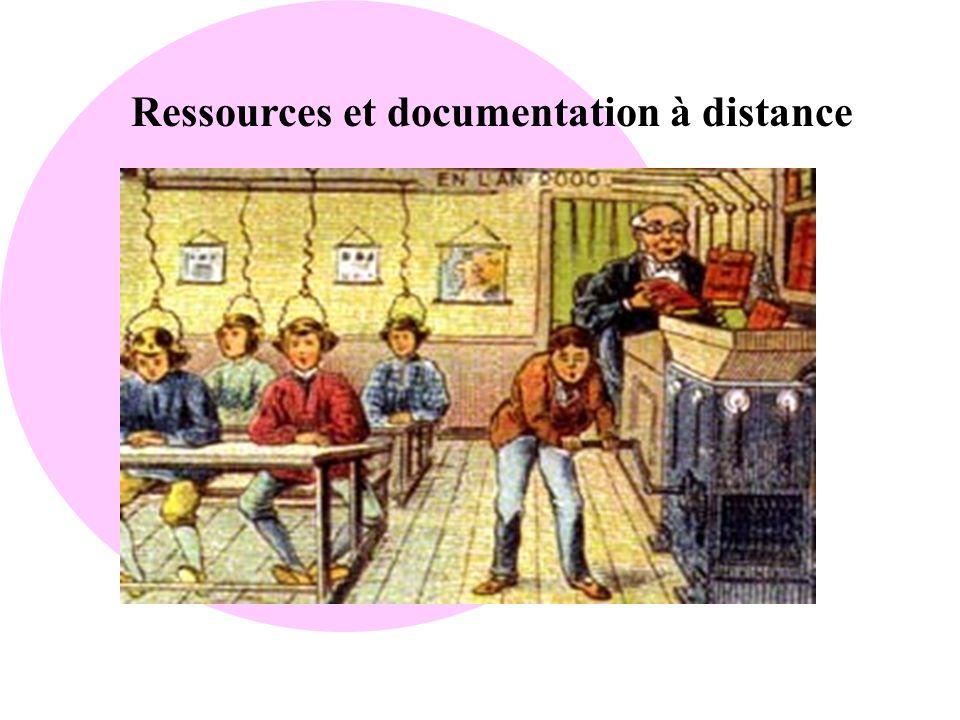 Ressources et documentation à distance
