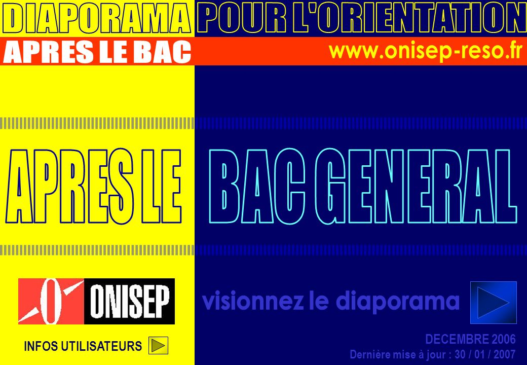 APRES BAC GENERAL - DIAPO 2 INTRO > Projet de vie Sauter lintro