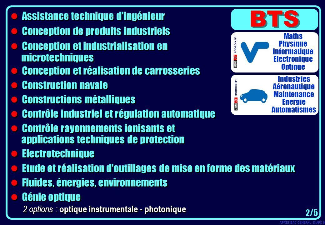 Assistance technique d'ingénieur Conception de produits industriels Conception et industrialisation en microtechniques Conception et réalisation de ca
