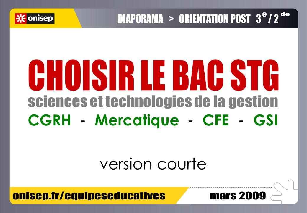 CGRH - Mercatique - CFE - GSI version courte