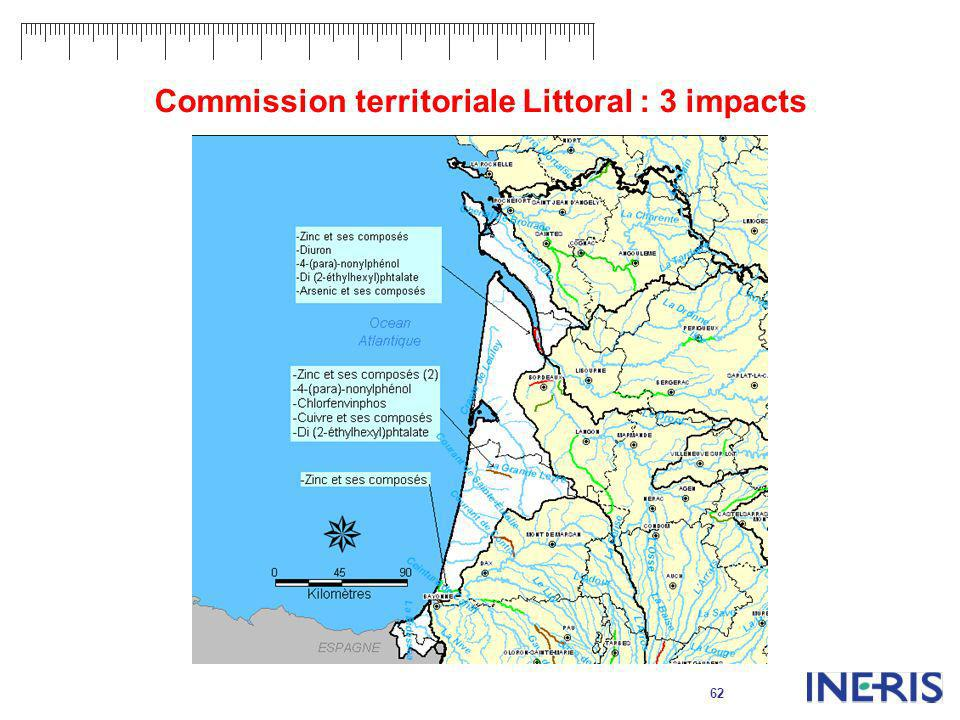 62 Commission territoriale Littoral : 3 impacts