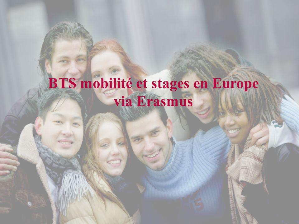 BTS mobilité et stages en Europe via Erasmus