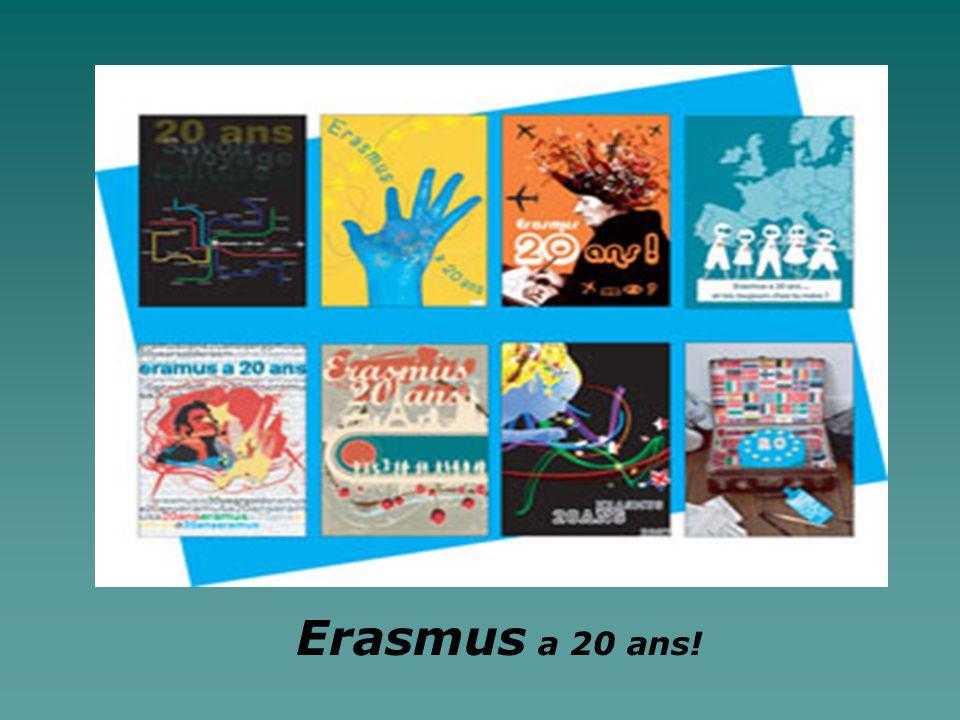 Erasmus a 20 ans!