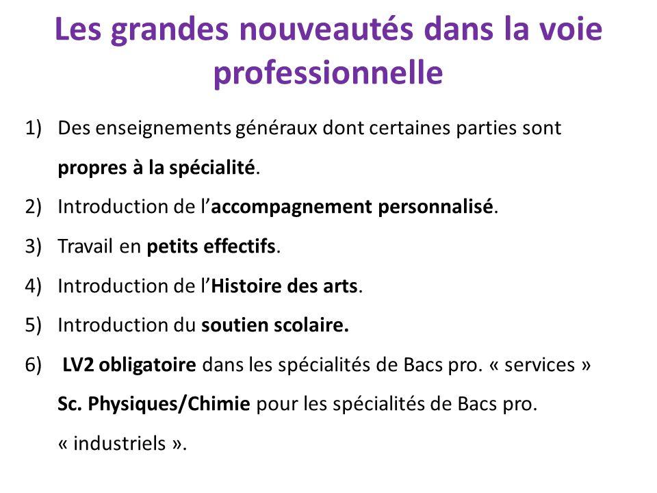 1)Des enseignements généraux dont certaines parties sont propres à la spécialité.