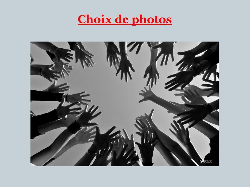Choix de photos