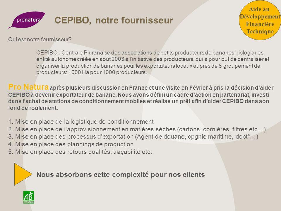 Certification bio et commerce équitable La démarche de CEPIBO sinscrit pleinement dans celle de la production Biologique et du Commerce Equitable.