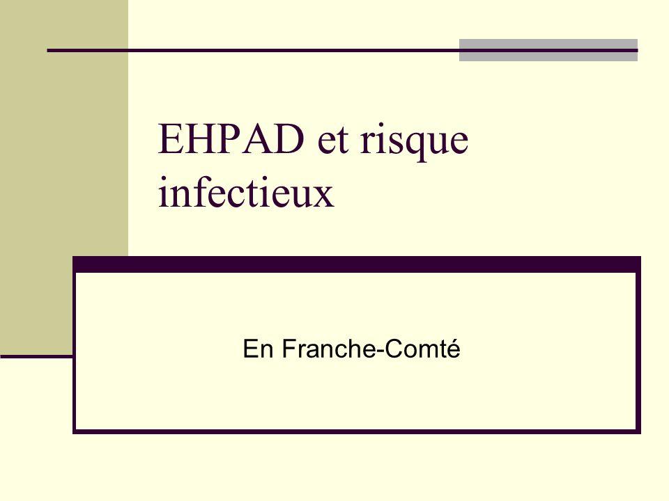 EHPAD et risque infectieux En Franche-Comté