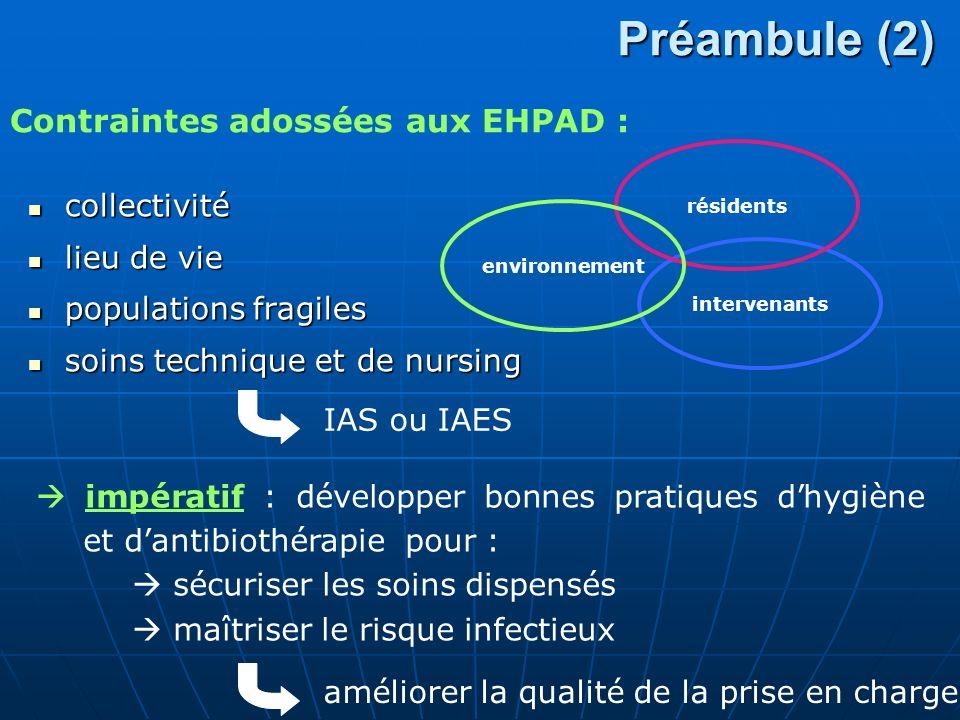 Contexte (1) Plan stratégique 2009-2013 de prévention des infections associées aux soins : Année de lancement : 2010