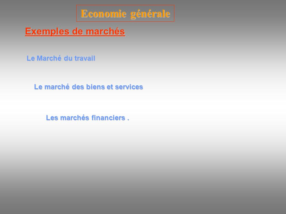 Economie générale Qu est-ce qu un secteur .
