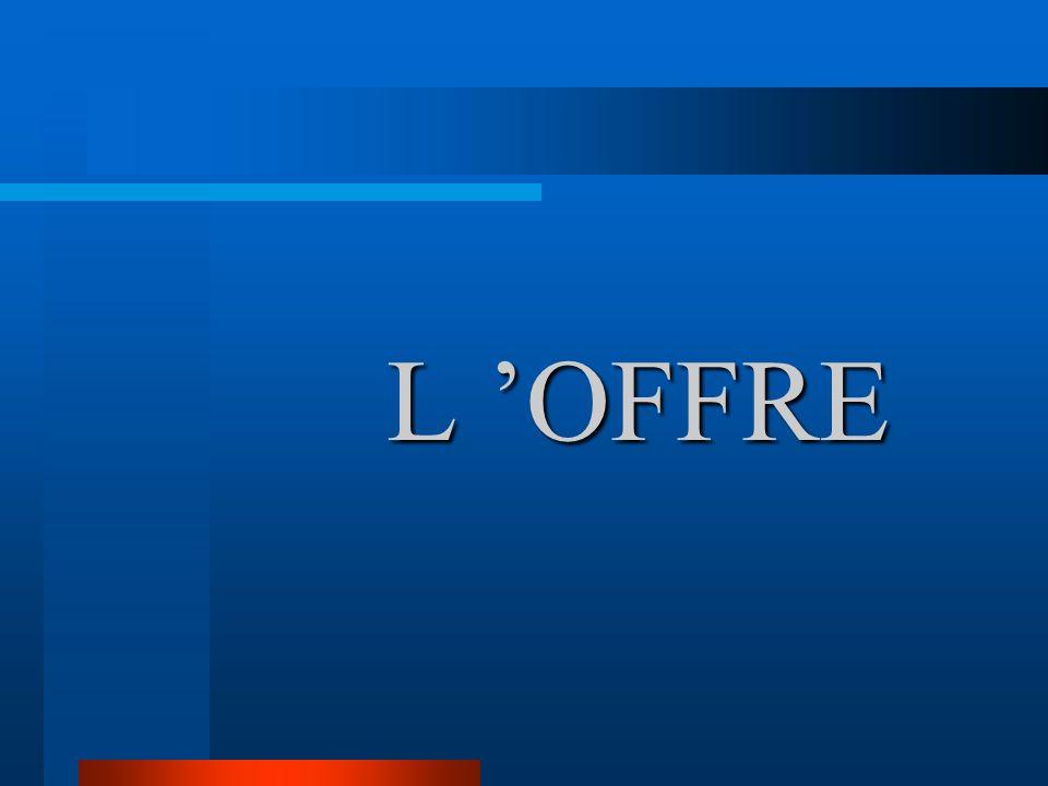 L OFFRE