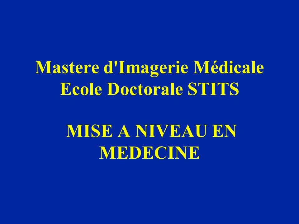 Mastere d Imagerie Médicale Ecole Doctorale STITS MISE A NIVEAU EN MEDECINE