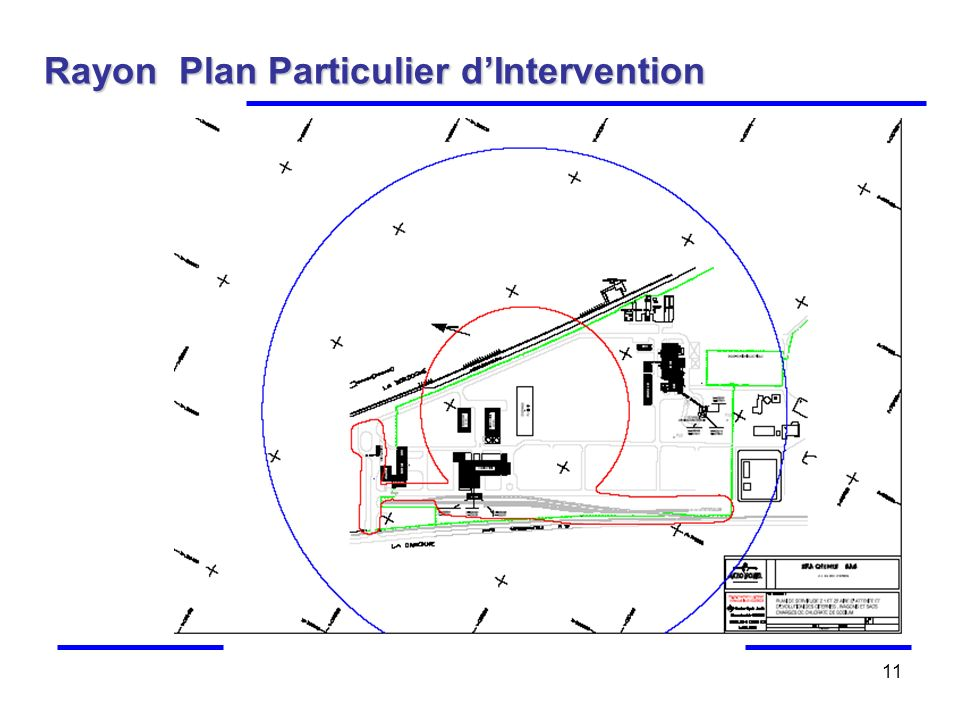 11 Rayon Plan Particulier dIntervention