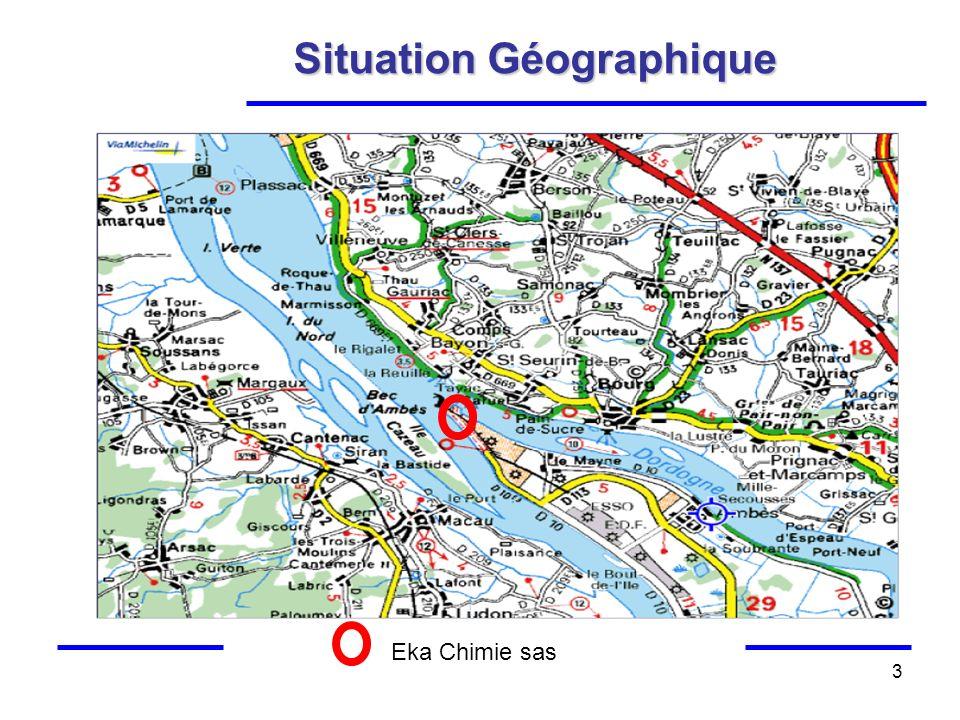 3 Situation Géographique Eka Chimie sas