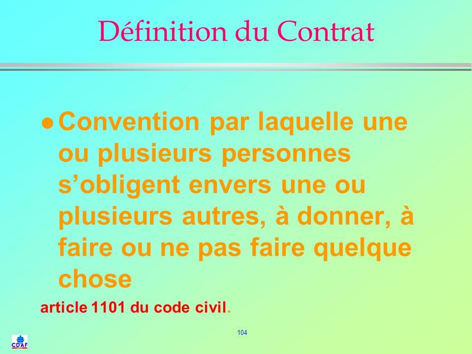 103 3° PARTIE LE CONTRAT DACHAT