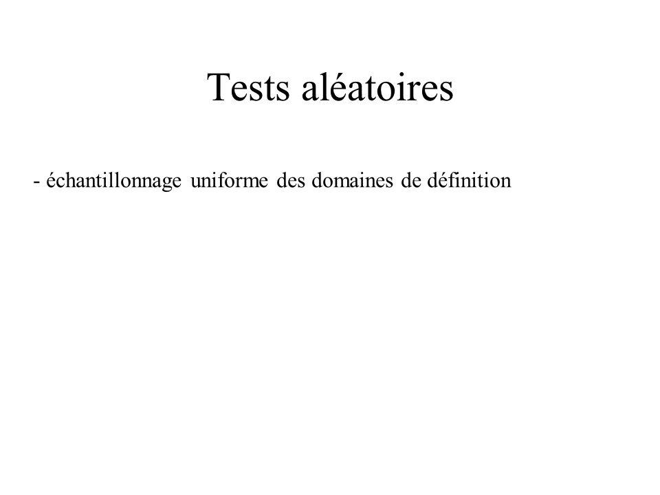 Tests syntaxiques Par exemple, grammaire de commandes On construit l arbre de dérivation de la grammaire Puis on construit - les commandes valides, -