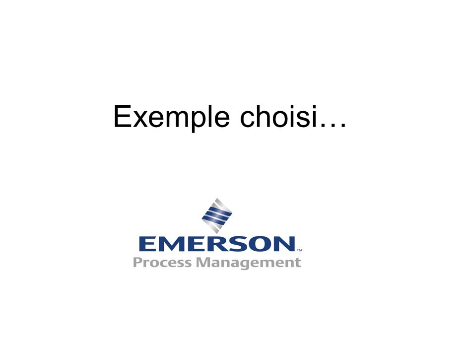EMERSON PROCESS MANAGEMENT ? Fabricant de vannes pour applications industrielles