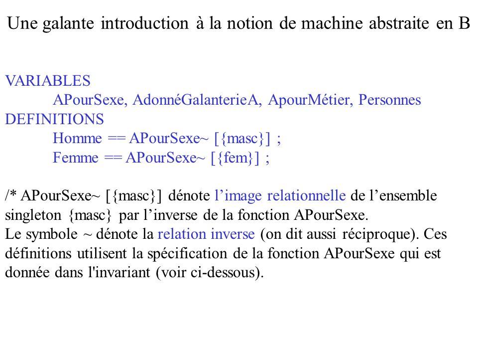 Le symbole == dénote en ASCI une définition.