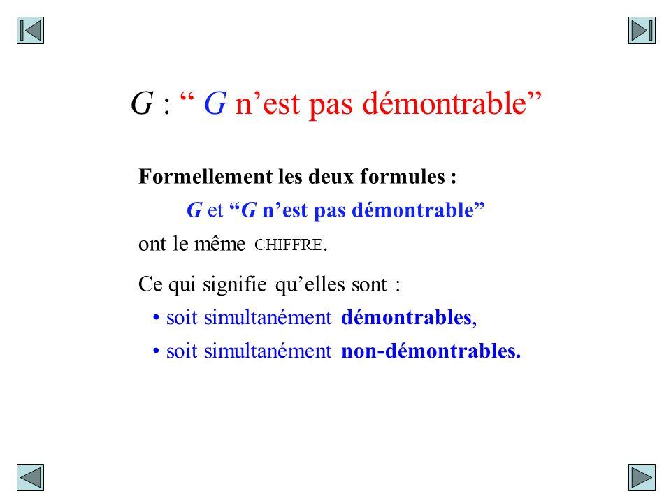 P : La formule obtenue en substituant, dans un signe de classe, le CHIFFRE de celui-ci.